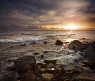 Paesaggio del mare. Fotografie Stock Libere da Diritti