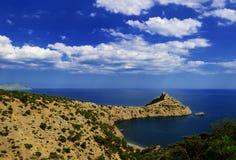 Paesaggio del mare Immagine Stock