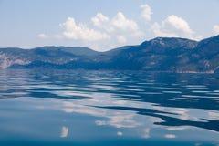 Paesaggio del mare Fotografia Stock