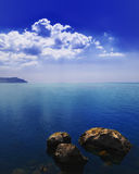 Paesaggio del mare Immagine Stock Libera da Diritti