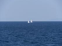 Paesaggio del mare adriatico Immagine Stock