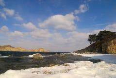 Paesaggio del mare del East-2 lontano Fotografia Stock Libera da Diritti