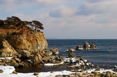 Paesaggio del mare del East-4 lontano Fotografia Stock