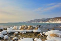 Paesaggio del mare dell'Estremo Oriente. Fotografia Stock