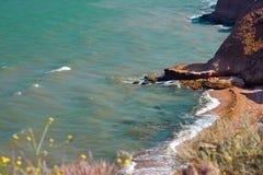 Paesaggio del mare di estate Fotografie Stock Libere da Diritti