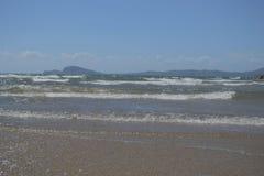 paesaggio del mare di Formia Immagini Stock