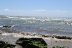 paesaggio del mare di Formia Fotografia Stock