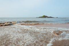 Paesaggio del mare di Gokarna Immagine Stock Libera da Diritti