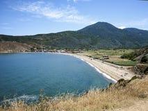 Paesaggio del mare di Marmara Fotografia Stock