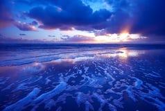 Paesaggio del mare di mattina Immagine Stock