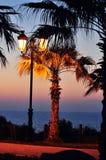 Paesaggio del mare di sera Fotografia Stock Libera da Diritti