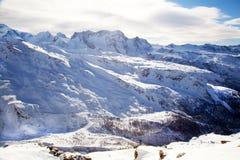 Paesaggio del Matterhorn della montagna in Svizzera Fotografie Stock Libere da Diritti