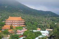 Paesaggio del monastero Immagini Stock Libere da Diritti