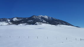 Paesaggio 2 del Montana Fotografie Stock