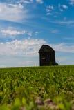 Paesaggio del mulino a vento Immagine Stock