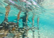 Paesaggio del naufragio Fotografie Stock