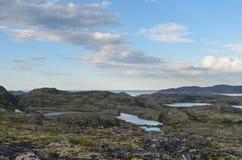 Paesaggio del Nord Fotografia Stock Libera da Diritti
