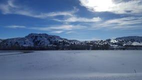 Paesaggio 2 del Nord Dakota Fotografia Stock