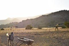 Paesaggio del nord degli agricoltori del Cipro Fotografia Stock Libera da Diritti