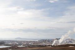 Paesaggio del nord dell'Islanda Immagini Stock Libere da Diritti