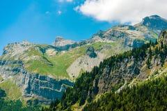Paesaggio del paesaggio della montagna Immagini Stock Libere da Diritti