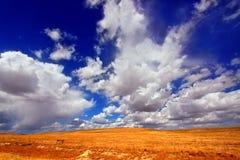 Paesaggio del paese del Wyoming Fotografie Stock Libere da Diritti