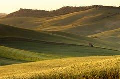 Paesaggio del paese italiano Fotografia Stock