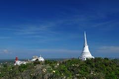 Paesaggio del palazzo di Phra Nakhon Khiri Fotografia Stock Libera da Diritti