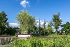 Paesaggio del parco di Seonyudo immagini stock libere da diritti