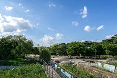 Paesaggio del parco di Seonyudo fotografie stock libere da diritti