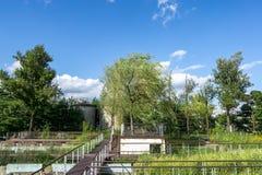 Paesaggio del parco di Seonyudo immagine stock libera da diritti