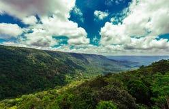 Paesaggio del parco nazionale della Tailandia fotografia stock libera da diritti