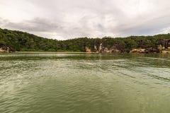 Paesaggio del parco nazionale di Bako, malese Borneo Immagine Stock Libera da Diritti