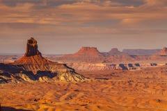 Paesaggio del parco nazionale di Canyonlands Fotografie Stock Libere da Diritti