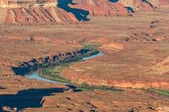 Paesaggio del parco nazionale di Canyonlands Fotografia Stock Libera da Diritti