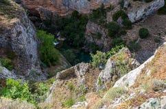 Paesaggio del picco di alta montagna Fotografia Stock Libera da Diritti