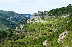 Paesaggio del picco di alta montagna Fotografia Stock