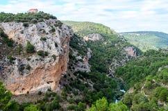 Paesaggio del picco di alta montagna Fotografie Stock Libere da Diritti