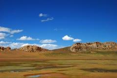 Paesaggio del plateau Fotografie Stock Libere da Diritti