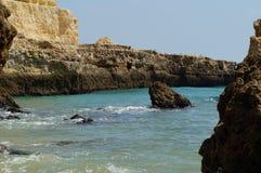 Paesaggio del Portoghese - il sud del Portogallo fotografia stock