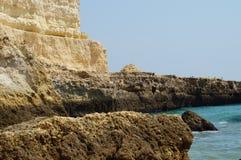 Paesaggio del Portoghese - il sud del Portogallo fotografie stock libere da diritti