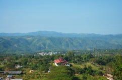 Paesaggio del punto di vista di Payathonsu Fotografie Stock Libere da Diritti