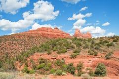 Paesaggio del sedona, in Arizona Fotografia Stock Libera da Diritti