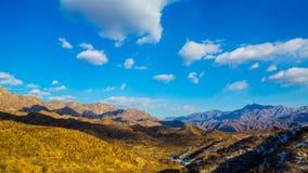 Paesaggio del sobborgo di Pechino fotografia stock libera da diritti