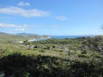 Paesaggio del sud australiano della costa Immagini Stock