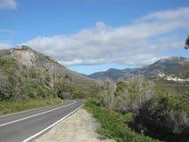 Paesaggio del sud australiano della costa Immagine Stock