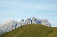 Paesaggio del sud del Tirol. Immagini Stock Libere da Diritti
