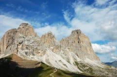 Paesaggio del sud del Tirol. Fotografia Stock