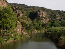 Paesaggio del sud della Francia Provenza Immagine Stock