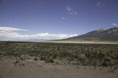 Paesaggio del sud di Colorado fotografia stock libera da diritti